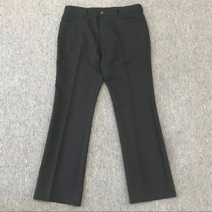 1970's Levi's Pants Polyester Gold and Black Tab